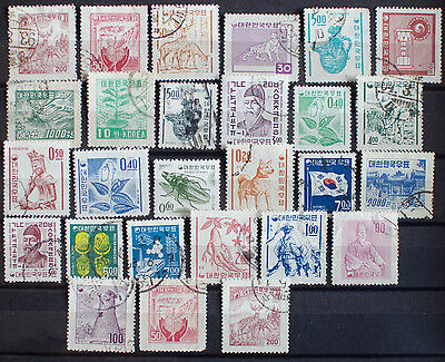 Collection of Stamps from Korea