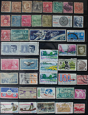 Collection of Stamps from the USA