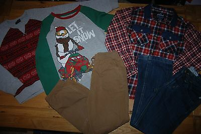 NEXT etc 6-7 years boys TOP*SWEATER*SHIRT*JEANS*TROUSERS *CHRISTMAS!