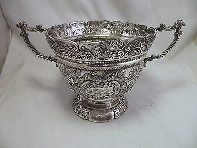 Scottish Master Bakers Diamond Jubilee Trophy 1897 - Walker And Hall