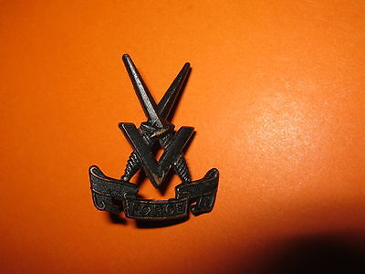 Ww2 British Army Far East Command V Force Special Forces Cap Badge