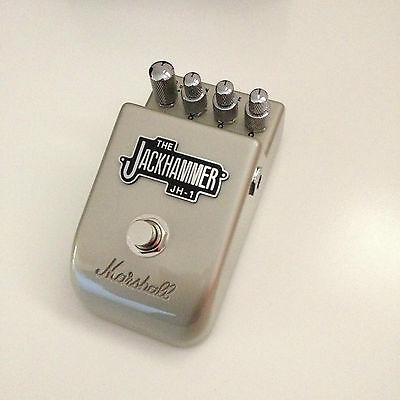 Marshall Jackhammer JH-1 Overdrive Distortion Guitar Effect Pedal