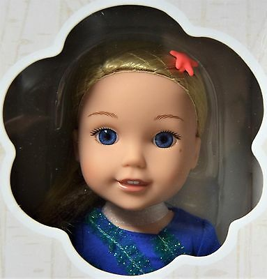 """American Girl Wellie Wishers Camille Doll 14.5"""" Christmas Gift New In Box 5+"""