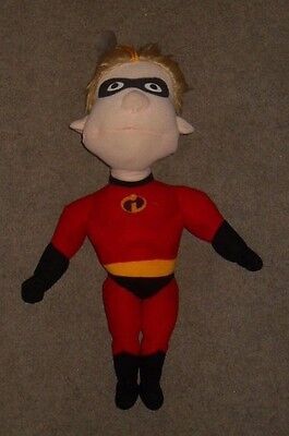 Disney Store  Authentic The Incredibles Singing Dash Soft Plush Toy Approx 18""