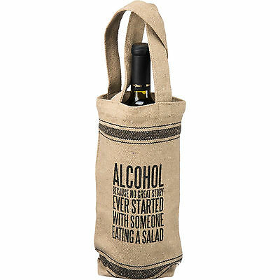 Wine Bag: Because No Great Story Ever Started with a Salad