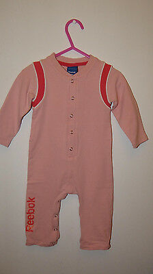 REEBOK all in one/ playsuit/ romper suit/ babygrow/ jumpsuit size 9-12 months