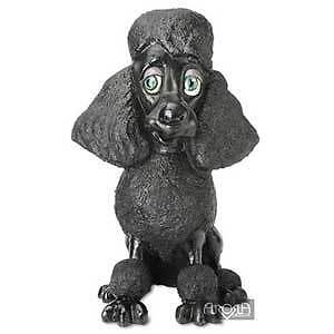 Lulu the Black Poodle Ornament by Arora Design