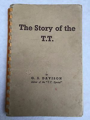 Motor cycle racing book The Story of the TT  1947