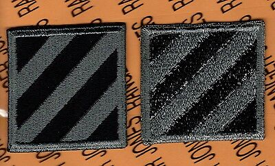 US Army 3rd Infantry Division ACU NO Hook & Loop patch m/e