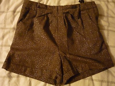 Sparkly Shorts size 10 Years with adjustable waist