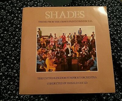 7 inch record shades theme from the crown paint commercial uk symphony orchestra