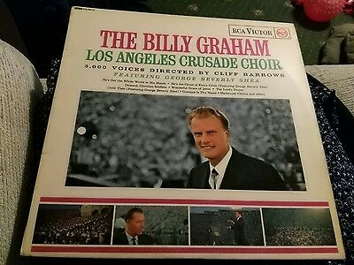12 inch record the billy graham los angeles crusade choir
