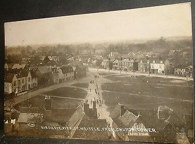 Writtle,view From Church Tower,near Chelmsford Essex,  Rp Postcard