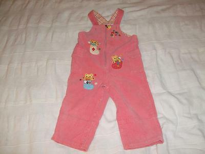 Miki House Corduroy Overall (2 – 3 years old, height: 90cm, pink)
