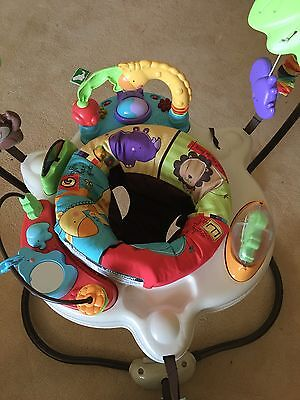 Fisher Price Luv U Zoo Jumperoo Bouncer Playcentre