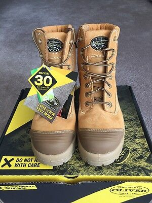 Men's Brand New Oliver 45632Z Work Boots Size 9.5