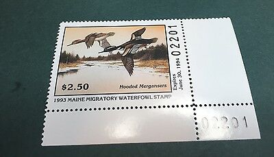 1993 Maine Waterfowl Stamp