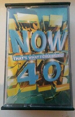 Now thats what i call music 40 casette