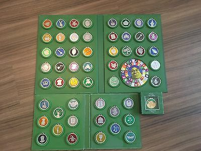 Shrek's Quest Amulets FULL Collection in Cases
