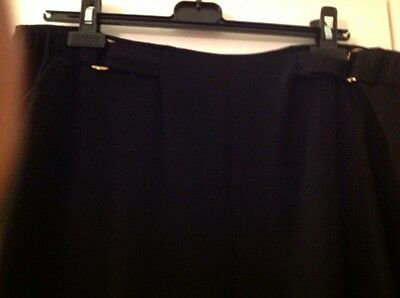 ladies  black trousers size 20