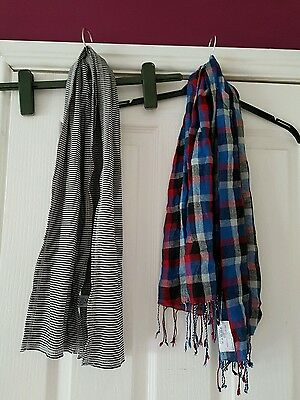 Set of 2 boys scarves