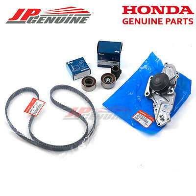 Genuine Honda Acura V6 Oem Timing Belt & Water Pump Kit Koyo Tensioner Bearing