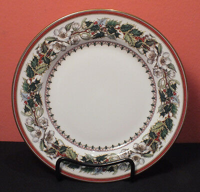 Spode CHRISTMAS ROSE Salad Plate 5 Available PERFECT Made in England