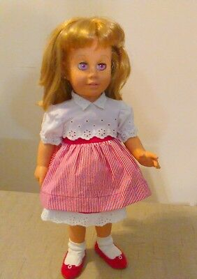 Mattel Chatty Cathy Doll 1998 Reproduction of 1960 Doll Talks