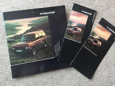 Land Rover Discovery 1989 Sales Brochure, Price Guide & Colour Chart