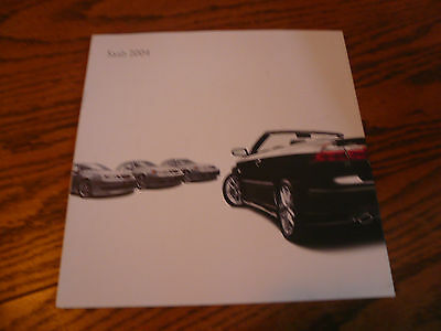 2004 SAAB Sales Brochure Request Booklet with Post Card