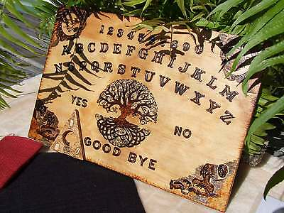 Tree of Life Ouija Board Handmade - Witches Hotline