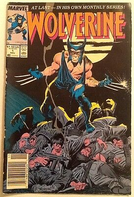 Wolverine #1 VG+ 4.5 Marvel 1988 Monthly Series Upcoming Movie