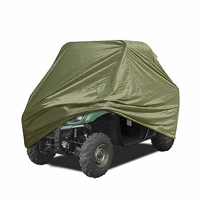 """Universal All Weather Storage UTV Olive Cover Fits Up To 140"""" L"""