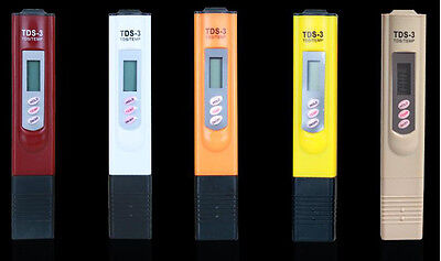 TDS Meter Digital LCD Tester Water Hardness Quality Filter Purity Pen Stick
