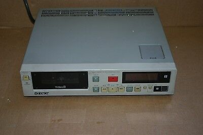 SONY EVO-510 Industrial Professional Grade Video8 8mm VCR Video Recorder/Player