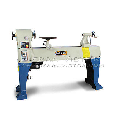 BAILEIGH® Heavy Duty Wood Lathe: WL-1840VS