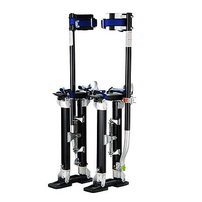 "Professional 18""-30"" Black Drywall Stilts Tool to Install Sheetrock & Drywall"