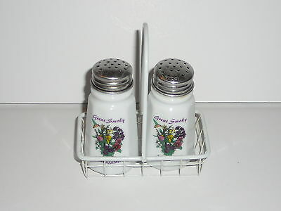 Vintage Great Smoky Mountains Salk and Pepper Shaker
