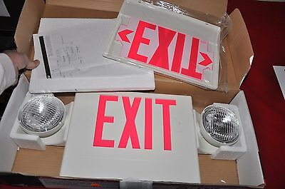 Cooper Lighting Sure-Lite Battery Back Up Exit Lights Lpxdh Lpx70Rwhd