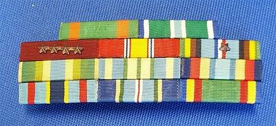 US Navy 11 Place Medal Ribbon Bar Uniform Insignia USN