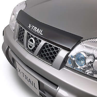 New Genuine Nissan X-Trail T30 Series Tinted Smoked Bonnet Protector 2001 - 2007