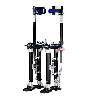 "Professional 24""-40"" Black Drywall Stilts Tool to Install Sheetrock & Drywall"