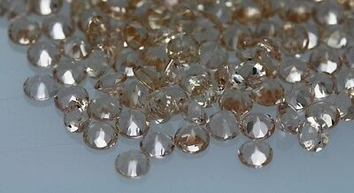 3mm - 5mm Natural Morganite Faceted Round Peach Color Top Quality Loose Gemstone