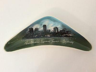 collectable STUDIO ANNA Australia Square Tower - Sydney BOOMERANG SHAPE DISH