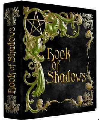 """Tree of Life Black & Gold Book of Shadows 3 Ring Binder 10"""" x 11.75"""" x 2.8""""spine"""