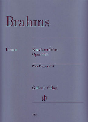 Brahms - Piano Pieces Op 118 - Henle Edition 1215 - AMEB Grade 8 A & Lic