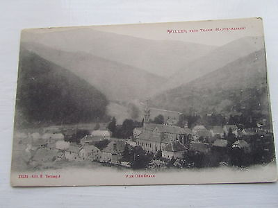Willer Village Alsace  old postcard