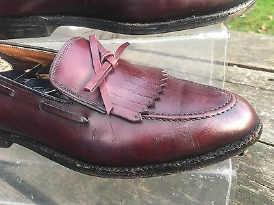 Norton Ditto Tasseled Loafer Shoes Size 9 UK EU 43 US 10.5 Mens Boys Brown USA