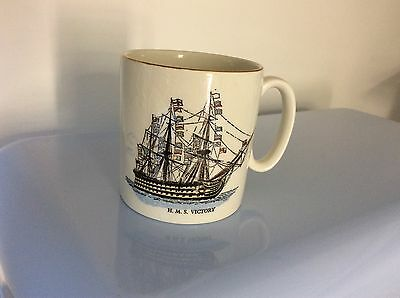 "Vintage  Has Victory Mug Lord Nelson Pottery ""Every man Shall Do His Duty"""
