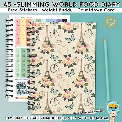 FOOD Diary Diet 3mth JOURNAL SLIMMING WORLD COMPATIBLE  WEIGHT LOSS Bk 36 - 2017